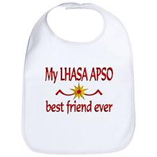 Lhasa Apso Best Friend Bib