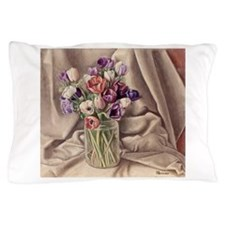 Bouquet of Tulips Pillow Case