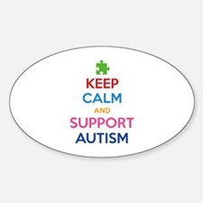 Keep Calm And Support Autism Decal
