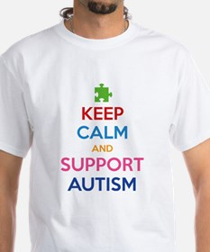 Keep Calm And Support Autism Shirt