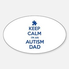 Keep Calm I'm An Autism Dad Decal