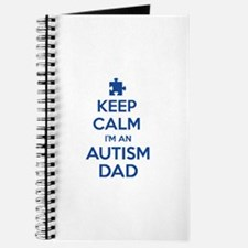 Keep Calm I'm An Autism Dad Journal
