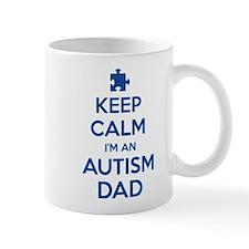 Keep Calm I'm An Autism Dad Mug