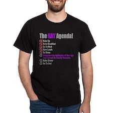 Gay Agenda Marriage T-Shirt