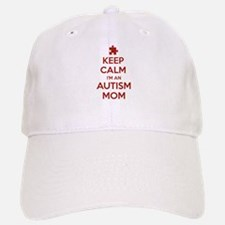 Keep Calm I'm An Autism Mom Baseball Baseball Cap