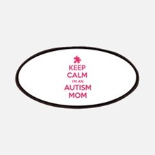 Keep Calm I'm An Autism Mom Patches