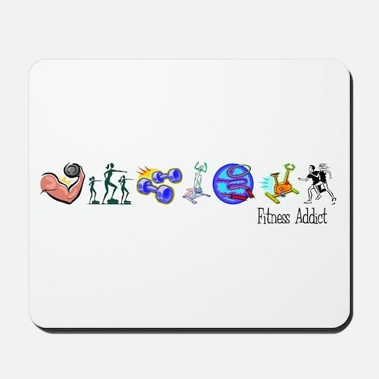 Fitness Addict Mousepad