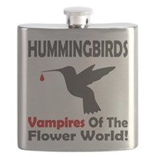 Hummingbirds Vampires Flask