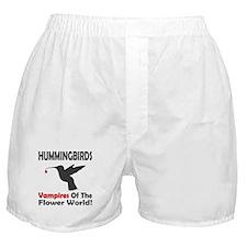 Hummingbirds Vampires Boxer Shorts