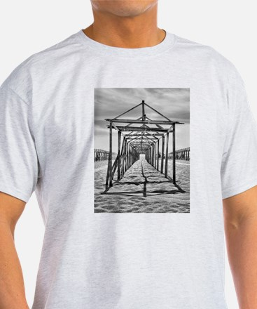 Povoa de Varzim beach in Portugal T-Shirt