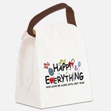 Happy Everything Canvas Lunch Bag