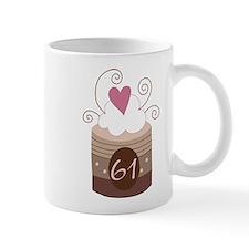 61st Birthday Cupcake Mug