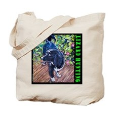 Lizard Hunter Tote Bag