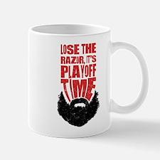 Playoff Beard, Hockey, Baseball Mug