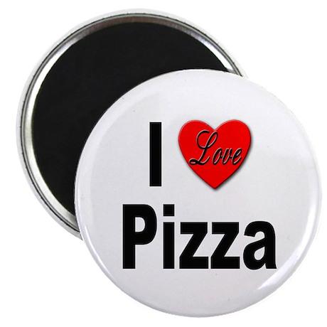 "I Love Pizza 2.25"" Magnet (10 pack)"
