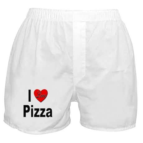 I Love Pizza Boxer Shorts