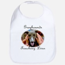 GREYHOUNDS TOUCHING LIVES Bib