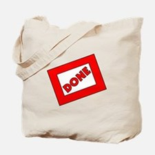 2013 Done Graduation Tote Bag