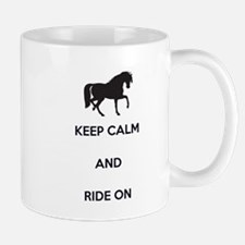 Keep Calm and Ride On, Horse Mug