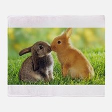 Love Bunnies Throw Blanket