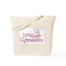 I Flip Over Gymnastics Tote Bag