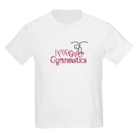 I Flip Over Gymnastics Kids T-Shirt