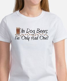 In Dog Beers Tee