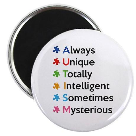 "AUTISM 2.25"" Magnet (100 pack)"