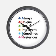 AUTISM Wall Clock