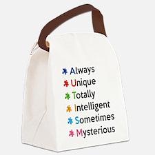 AUTISM Canvas Lunch Bag