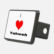 I heart Yahweh Hitch Cover