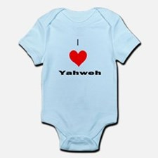 I heart Yahweh Body Suit
