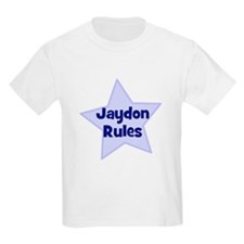 Jaydon Rules Kids T-Shirt