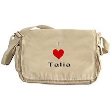 I heart Talia Messenger Bag