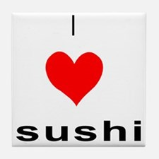 I heart Sushi Tile Coaster