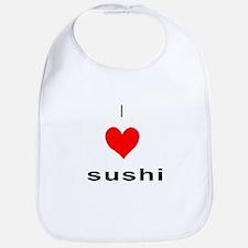 I heart Sushi Bib