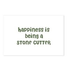 Happiness is being a STONE CU Postcards (Package o