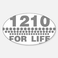 1210 For Life Decal