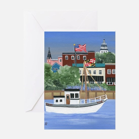 Annapolis View Greeting Card