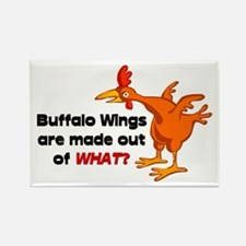 Buffalo Wings are made out of what? Rectangle Magn