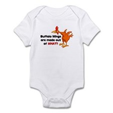 Buffalo Wings are made out of what? Infant Bodysui