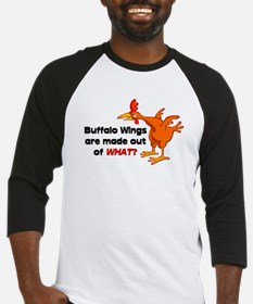 Buffalo Wings are made out of what? Baseball Jerse