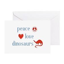Dinosaurs Greeting Card