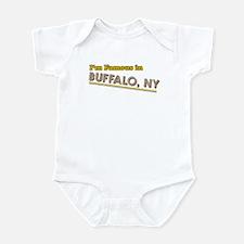 I'm famous in Buffalo NY Infant Bodysuit