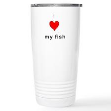 I heart my Fish Travel Mug