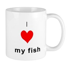 I heart my Fish Mug