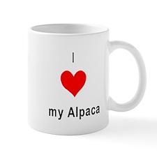I heart my Alpaca Mug