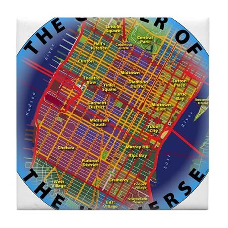 Midtown Manhattan - The Center Of The Universe Til