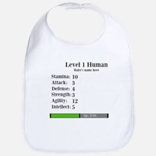 Level 1 Human [Personalize] Bib