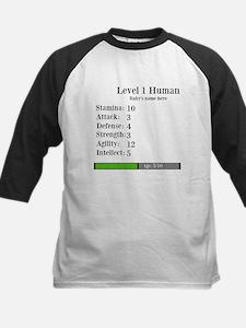 Level 1 Human [Personalize] Baseball Jersey
